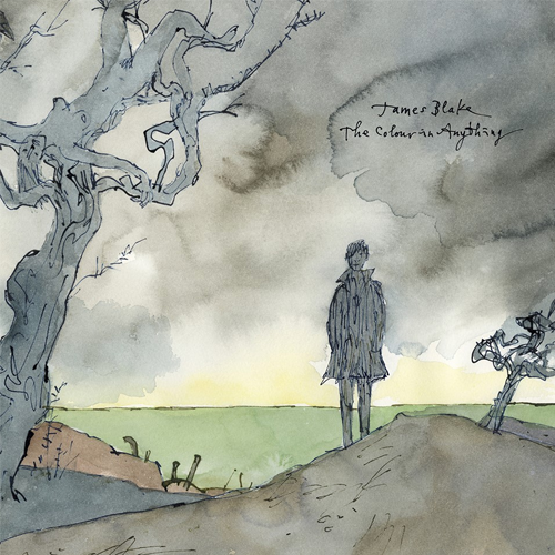 copertina james blake the colour in anything